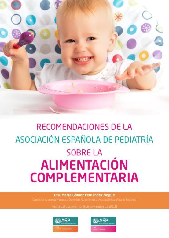recomendaciones nutricionales en la lactancia materna