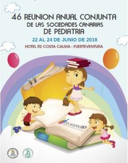 Cartel 46 Reunión Anual Conjunta de las Sociedades Canarias de Pediatría
