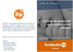 III Curso de Verano IHP de Actualización en Vacunas