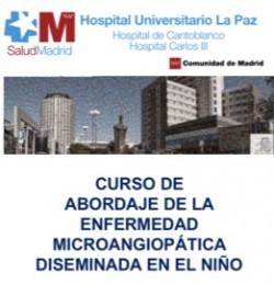 Curso de Abordaje Enfermedad Microangiopática Diseminada en el Niño HU La Paz