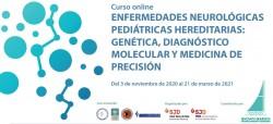 portada curso Genética y neuropediatría