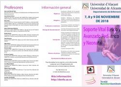 Curso de RCP Avanzada Pediátrica y Neonatal