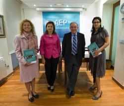 Marcela González-Gross, Ana María Troncoso, Serafín Málaga y Amparo Lobato