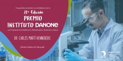 Premio a la Trayectoria Científica Dr. Carles Martí Henneberg