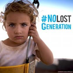 No dejemos que se pierda una generación de niños sirios