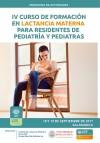 IV Curso de formación en lactancia materna para residentes de Pediatría y pediat